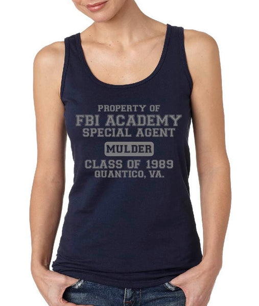 FBI Academy Mulder ( x files ) Tank Top