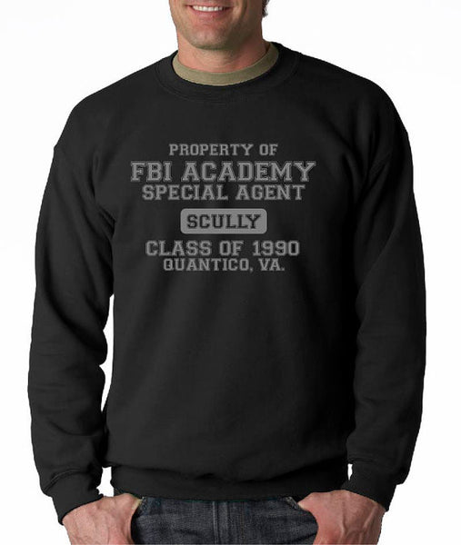 FBI Academy Scully Crew Neck Sweatshirt