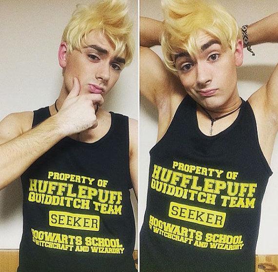 Hufflepuff Quidditch Seeker Tank Top