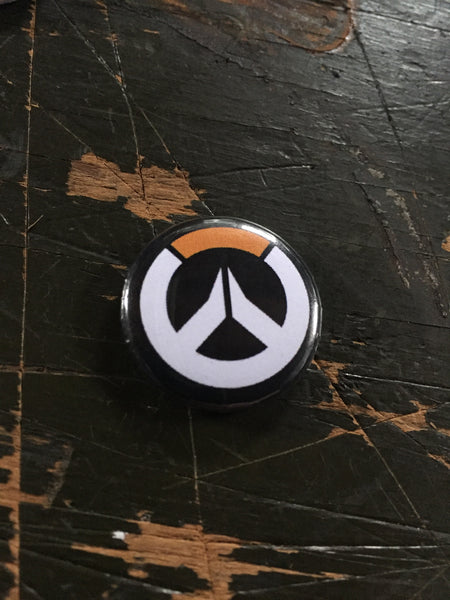 Overwatch inspired 1 inch buttons (pricing includes shipping)