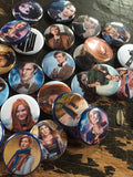 Doctor Who inspired 1 inch buttons (pricing includes shipping)