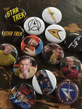 Star Trek  inspired 1 inch buttons (pricing includes shipping)
