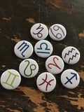 Totally not related to Homestuck astrological signs  1 inch buttons (pricing includes shipping)