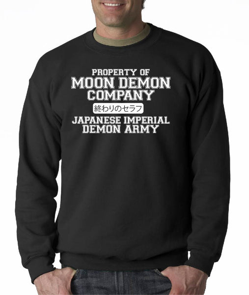 Moon Demon Company ( Seraph of the end ) Crew Neck Sweatshirt
