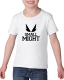 Small Might bnha my hero academia all might inspired children's Tee or Onesie