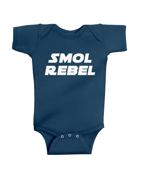 Smol Rebel Star Wars inspired children's Tee or Onesie