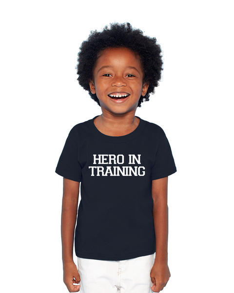 Hero In Training children's Tee or Onesie