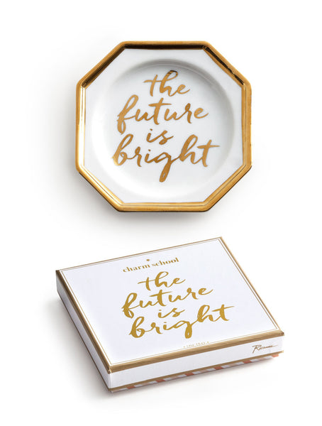 The Future is Bright Trinket Tray