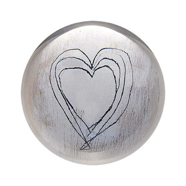 Heart Sketch Paper Weight