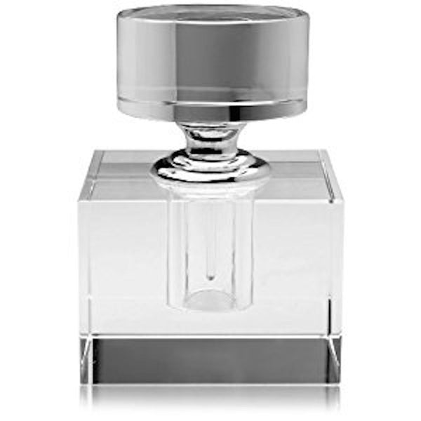 Glass Cube Perfume Bottle