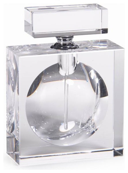 Glass Rectangular Perfume Bottle