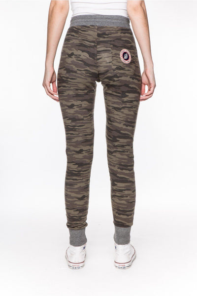 Camouflage Kaki - High-Joggers-Sweet Pants-Weightless.no