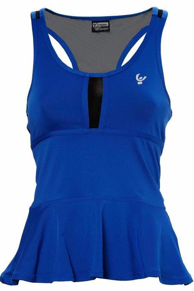 Flared Bottom Singlet Royal Blue-Singlet-Freddy-Weightless.no