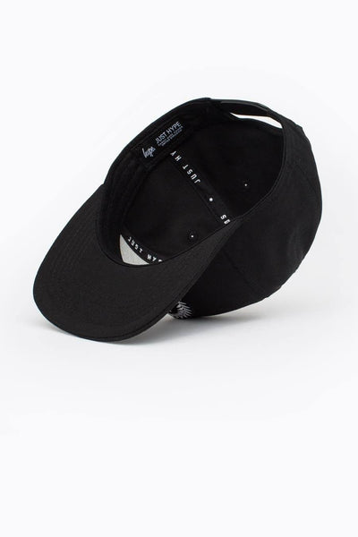 HYPE Black Crest Snapback Hat-Snapback Hat-HYPE.-Weightless.no