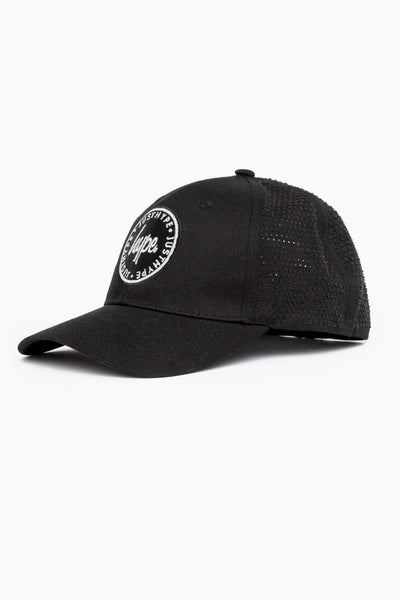HYPE Black Laser Polka Dad Hat-Dad Hat-HYPE.-Weightless.no