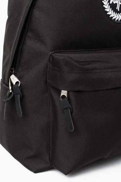 HYPE Black Strap Tape Backpack-Backpack-HYPE.-Weightless.no