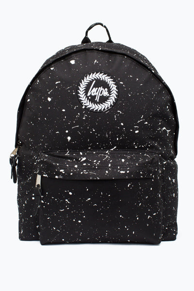 HYPE Black With White Speckle Backpack-Backpack-HYPE.-Weightless.no