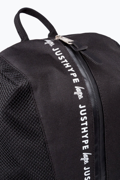 HYPE Black/White Mesh Backpack Sports-Backpack Sports-HYPE.-Weightless.no