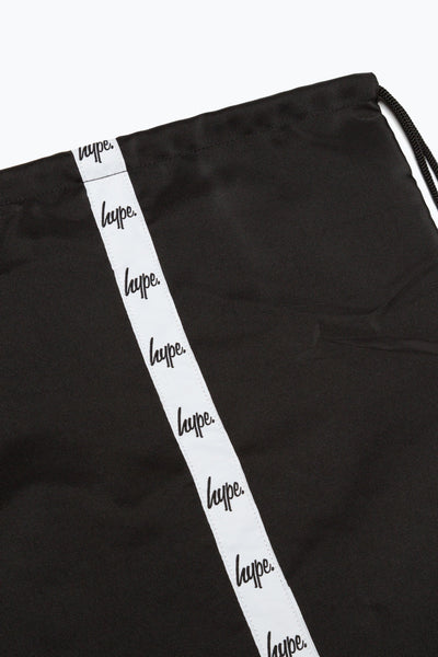 HYPE Black/White Taping Drawstring-Drawstring-HYPE.-Weightless.no