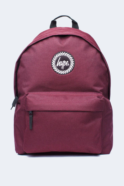 HYPE Burgundy Badge Backpack-Backpack-HYPE.-Weightless.no