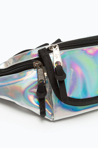 HYPE Silver Holographic Bumbag-Bumbag-HYPE.-Weightless.no