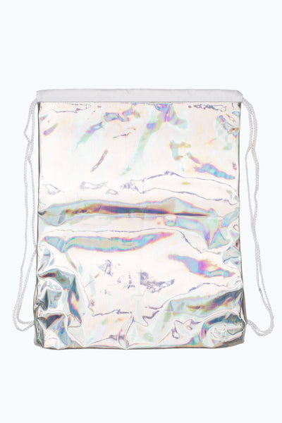 HYPE Silver Holographic Drawstring-Drawstring-HYPE.-Weightless.no