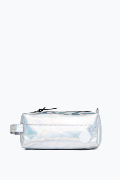 HYPE Silver Holographic Pencil Case-Pencil Case-HYPE.-Weightless.no