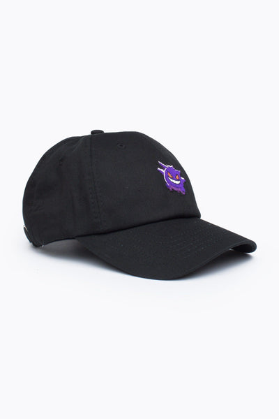 HYPE X Pokemon Black Gengar Dad Hat-Dad Hat-HYPE.-Weightless.no