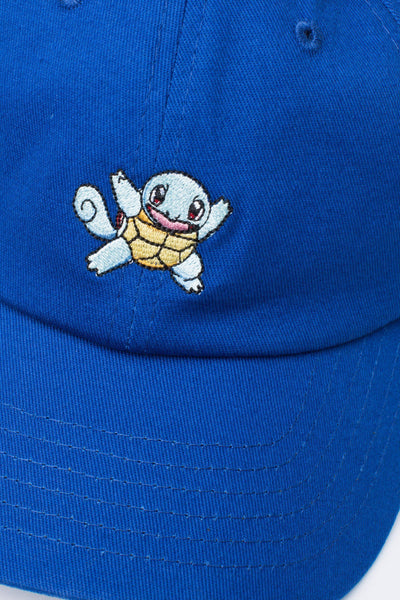 HYPE X Pokemon Blue Squirtle Dad Hat-Dad Hat-HYPE.-Weightless.no
