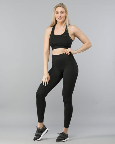 Levity Seamless Jacquard Tights-Tights-Levity Premium Fitness-Weightless.no
