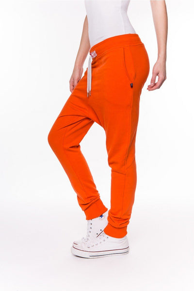 Orange Lounge-Joggers-Sweet Pants-Weightless.no