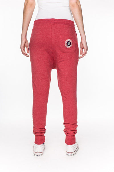 Rick Red Marl Lounge-Joggers-Sweet Pants-Weightless.no