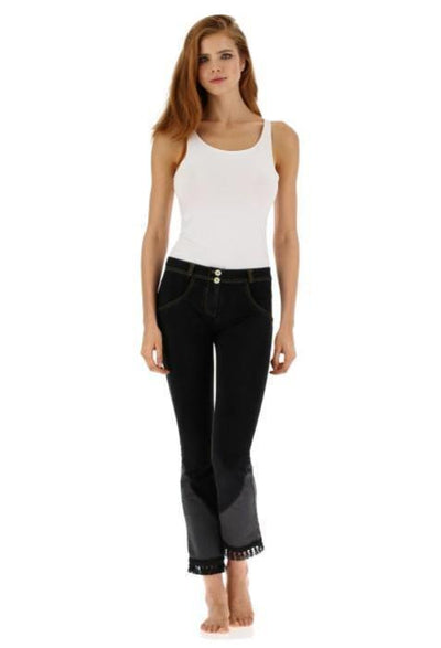 WR.UP® Bootcut Jeans with tassels-Jeans-Freddy-Weightless.no