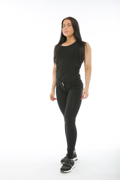 WR.UP® Shaping Jeans Skinny Low Black-Jeans-Freddy-Weightless.no