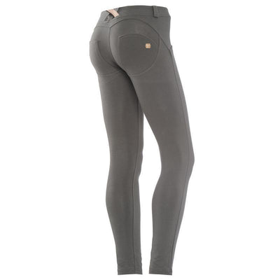 WR.UP® Shaping Pants Petite Low Olive Grey-Pants-Freddy-Weightless.no