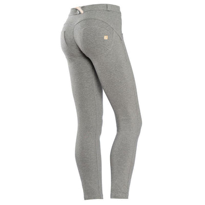 WR.UP® Shaping Pants Petite Mid Melange Grey-Pants-Freddy-Weightless.no