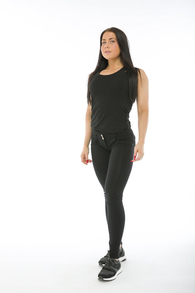WR.UP® Shaping Pants Skinny Low Black-Pants-Freddy-Weightless.no