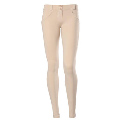 WR.UP® Shaping Pants Skinny Low Cream-Pants-Freddy-Weightless.no
