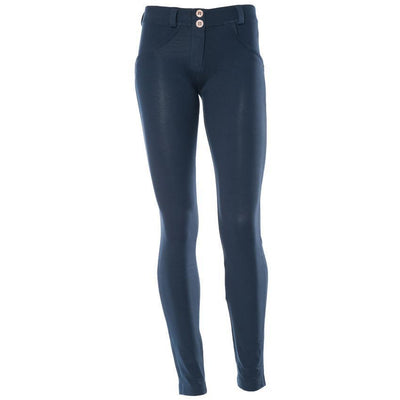 WR.UP® Shaping Pants Skinny Low Navy Blue-Pants-Freddy-Weightless.no