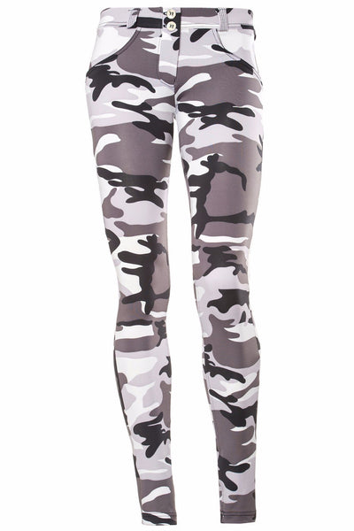 WR.UP® Shaping Pants Skinny Low Snow Camo-Pants-Freddy-Weightless.no
