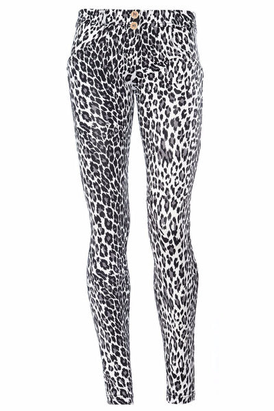 WR.UP® Shaping Pants Skinny Low Snow Leopard-Pants-Freddy-Weightless.no