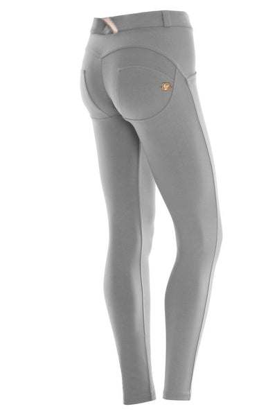 WR.UP® Shaping Pants Skinny Mid Light Grey-Pants-Freddy-Weightless.no