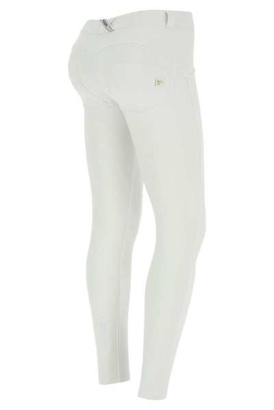 WR.UP® Shaping Pants Super Skinny Beauty Effect Mid White-Bukser-Freddy-Weightless.no