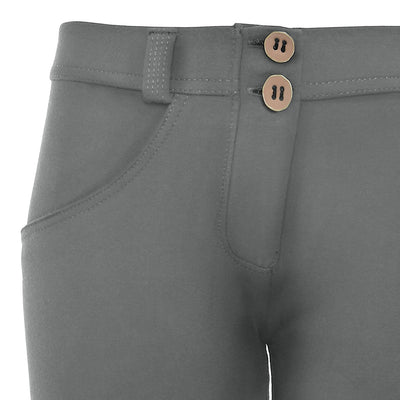 WR.UP® Shaping Pants Super Skinny Mid Light Grey-Bukser-Freddy-Weightless.no