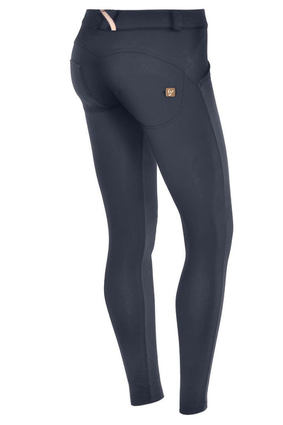 WR.UP® Shaping Pants Super Skinny Mid Navy Blue-Bukser-Freddy-Weightless.no