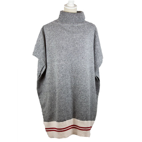Grey Work Collection Poncho