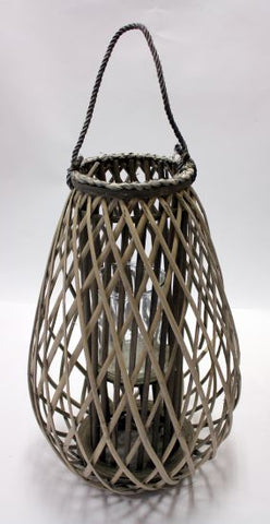 Small Willow Candle Lantern