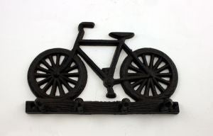 Cast Iron Bicycle or Motorcycle  Key Holder