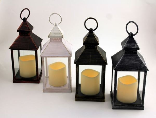 Small LED Resin Lantern