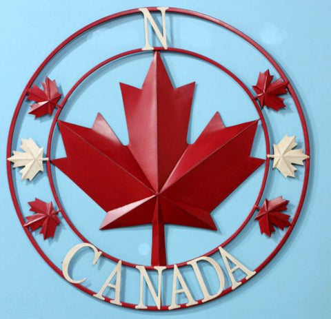 Original Canada Metal Wall Art
